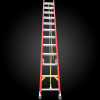 factory price insulated telescopic firefighting fiberglass ladder