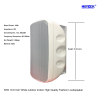 30W 10.6 Inch White Outdoor Indoor High Quality Fashion Loudspeaker