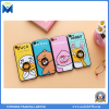 Cartoon Cute TPU+PC Protective Back Cover Embossing with Ring Bracket for iPhone 6