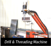 Drilling & Treading Machine