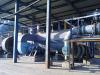 Hot air gas furnace