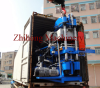 Loading 4-column vulcanizing press