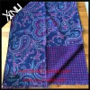 Men's Fashion Double Side Printed Wool Design Scarf