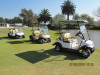 The HDK solar energy golf cart in South Africa