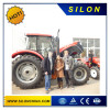 Ukrain Customer Visit Factor for Checking the 130HP Tractor