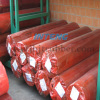 Red plastic film