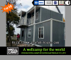 Flat pack prefab container house for accommodation in China