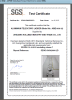 SGS certifiate for Telescopic ladder