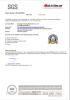 June 30, 2016 SGS official site audit verification report
