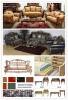 Wooden Sofa with Stock for Big Sales Promotion