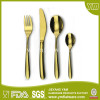 China Kitchen Design Gold Stainless Steel Cutlery Set