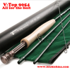 40T+46T SK carbon 9ft #5 4sec fly rod V-Top 9054