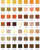 Ribbon color chart 4