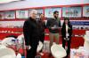 Client with us in Shanghai Bauma Fair
