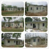 Light steel structure frame prefab house