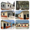EPS sandwich panel prefabricated house with PVC clading for shcool office