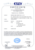 CE Certificate for 8175U,8082U,8081 Power Inverter