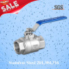 2PC Female Threaded Ball Valve,Stainless Steel 201,304,316 valve,Q11F Ball valve