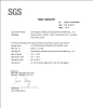 Trampoline SGS Certificates