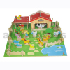 Wooden Toy - Big 3d Wooden Farm Puzzle