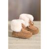 Sheepskin baby boot