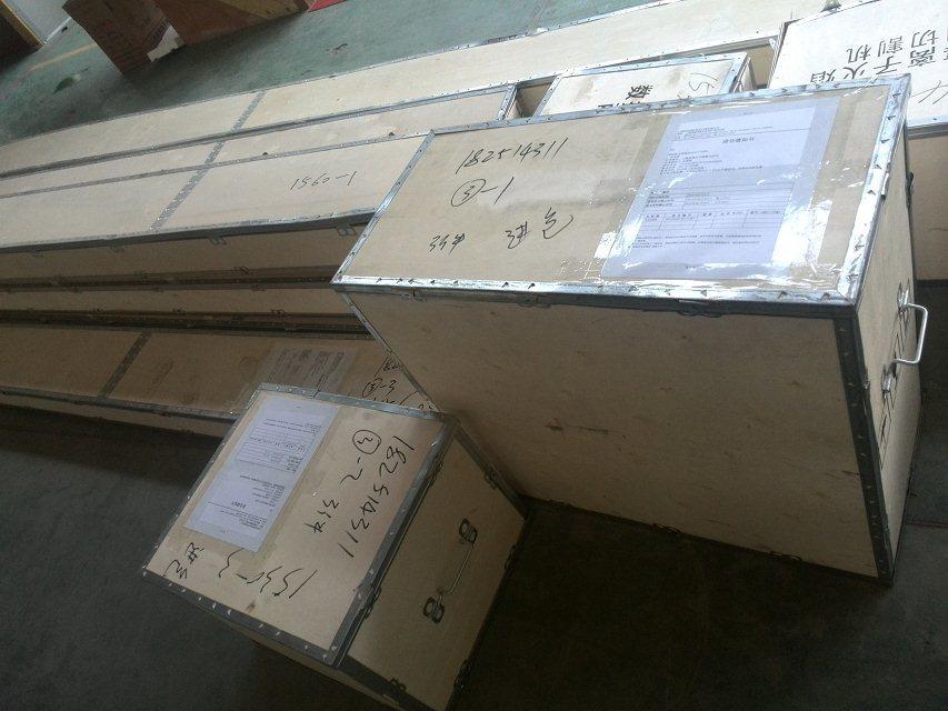CNC cutting machine shipment
