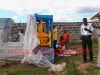 Henry QT4-20 Automatic cement block making machinery in Ethiopia