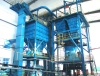 sand treating system for casting series products