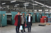 Foreign Clients visit our factory