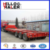 Long Vehicle Truck Trailer 150 Ton Lowboy Trailers