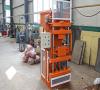 HR1-10 automatic eco turbo interlocking soil brick machine