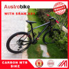 Full carbon MTB bike with SRAM GROUPSET