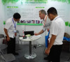 at the ICIF fair in Shanghai