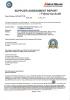 TUV inspection report