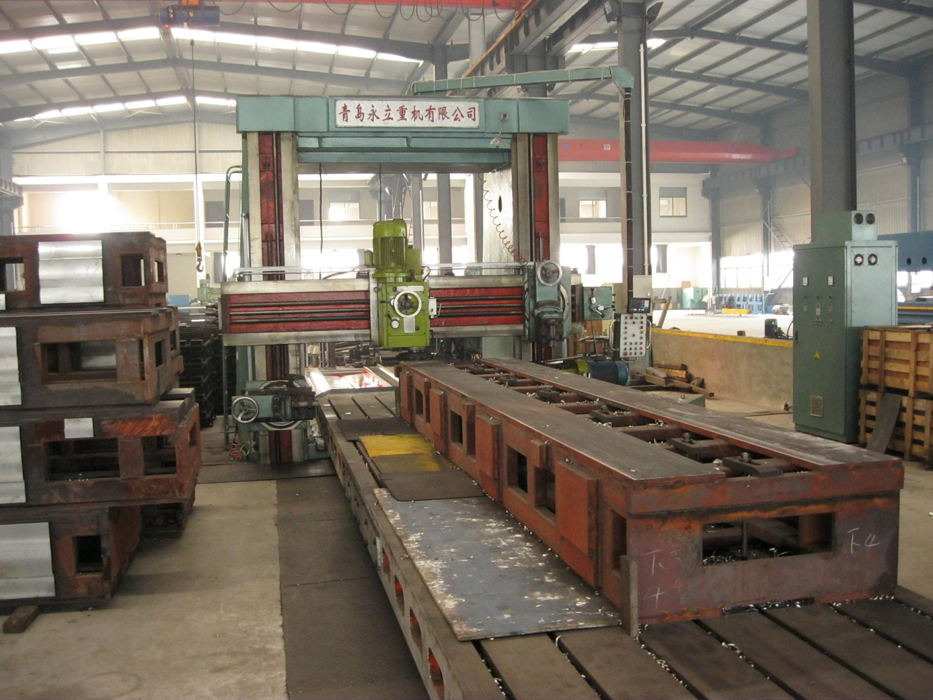 10m Frame Slotting & Milling Machine