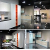 UV High Glossy Kitchen Cabinet