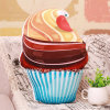 Ice Cream Shaped Soft Toy printed Pillow