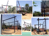 Thailand steel structure workshop with different spans