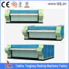 Hotel/hosptial flatwork ironer from single roller to 3 rollers