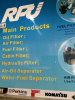 RFU Main Products:Oil,Fuel,Air filters