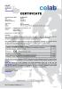 MCB Mini Circuit Breaker ROHS certificate