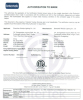 ETL&CETL Certification of LED Bulb