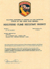 Tent Fire Retardant Certificate