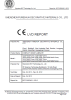 CE Certificate of Compact Laminate
