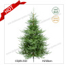 2017 High Quality Outdoor PE Collapsible Christmas Tree Wholesale 8FT