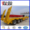 Heavy Duty 3 Axle 60 Ton Low Bed Trailer for Sale