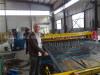 Install automatic wire mesh welding machine in Sudan