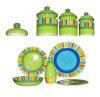 Ceramic Hand Painted Dinnerware Set(616050)