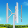 H VAWT Vertical Wind solar Hybrid Wind Turbine Generator for LED Street Light