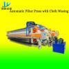 Automatic Filter Press with Cloth Washing System